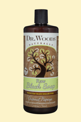 Raw Black Coconut