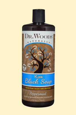 Raw Black Peppermint