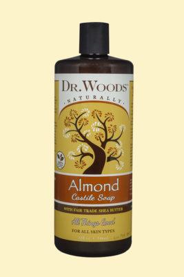 Castile Liquid Almond with Fair Trade Organic Shea Butter