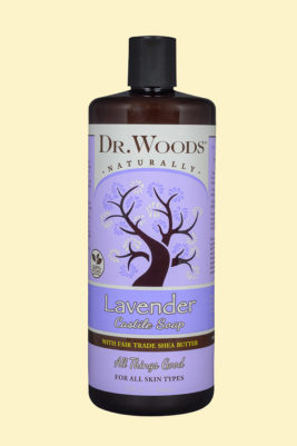 Castile Liquid Lavender with Fair Trade Organic Shea Butter