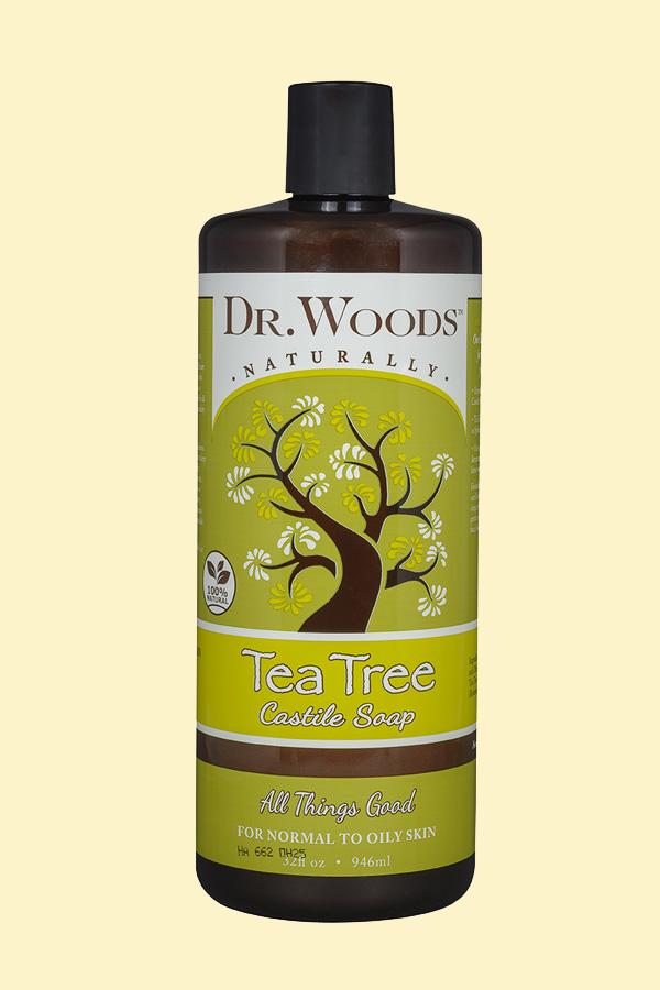Castile Liquid Tea Tree | Dr  Woods Naturals