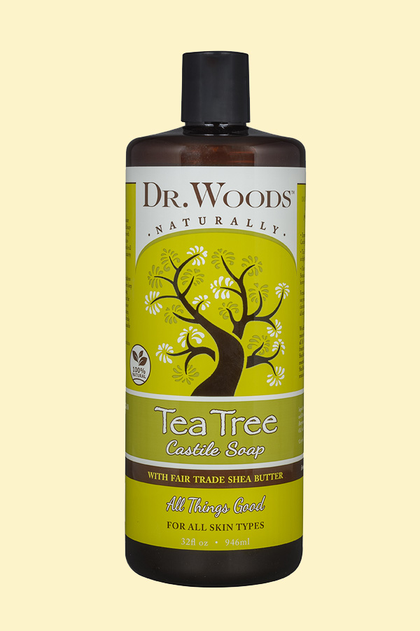 Dr. Woods Tea Tree Castile Soap with Fair Trade Shea Butter
